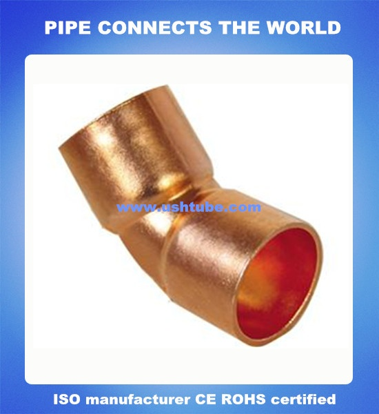 Copper Elbow 45 Degree