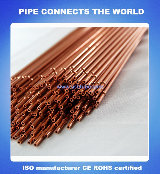 Capillary copper tube with Stopper