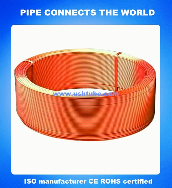 seamless oxygen free Copper Tube(OFHC)