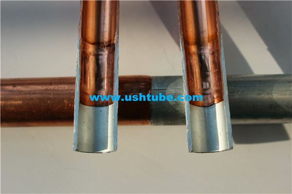 copper and aluminum welded tube for air conditioner