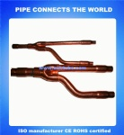 Copper branch tube for air conditioner
