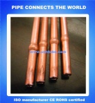 Capillary copper tube with bulge